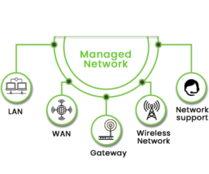 Managed services and networks